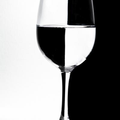Echiquier de verre