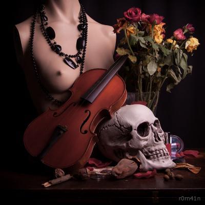 Memento mori au violon